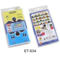 3 Languages Flash Cards Puzzle Games ET534 Looking for Animals