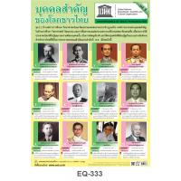 UNESCO Thai Great Personalities Paper Posters Set1 EQ-333