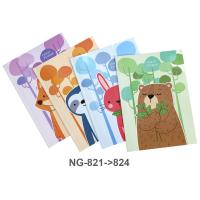 Glue Binder PP Note Book B5 NG821-824 Assorted Model