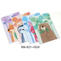 Glue Binder PP Note Book A5 NN821-4 Assorted Model