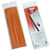 "Slide Binder Bar L Shape A4 5mm. 11.75"" Dark Orange"