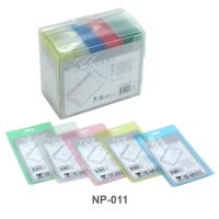 Vertical ID PP badge NP-011 Assorted Color
