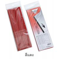 "Slide Binder Bar L Shape A4 3mm. 11.75"" Red"