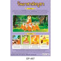 The Day Before The Buddhist Lent Plastic Posters EP487