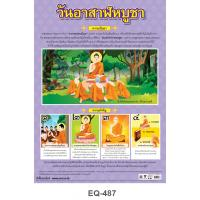 The Day Before The Buddhist Lent Paper Posters EQ487