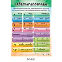 Thai Punctuation Marks Paper Posters EQ521