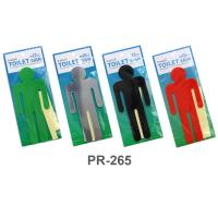 PP Foam Large Restroom Signs Men PR265 Assorted Colors