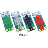 PP Foam Large Restroom Signs Men PR267 Assorted Colors