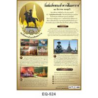King Taksin the Great Paper Posters EQ-524