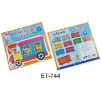 7 Days Plastic Flash Cards for Board Displayed ET-744