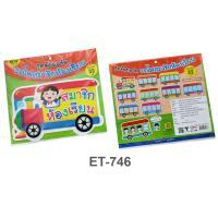 Member in Classroom Plastic Flash Cards for Board Displayed ET-746