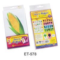 Shadow Matching Game Vegetables set ET-578