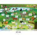 Terrestrial Animals Educational Posters EP386
