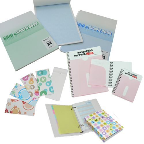 Stationery - Notebook