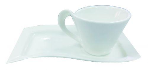 แก้วกาแฟพร้อมจานรอง