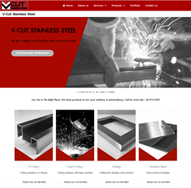 www.vcut.co.th V-Cut Stainless Steel