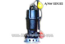 Submersible , ปั๊มแช่ , ปั๊มน้ำ , ปั๊มจุ่ม , ไดโว่ ,  PUMP , TSURUMI , A / AT (W) SERIES