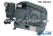 HIBLOW , AIR BLOWER , ROTARY TYPE , TRB SERIES, TRB-250 , TRB-300 , TRB-400 , TRB-500 , TRB-650 , TRB-800 , TRB-1100 , TRB-1400 , TRB-1800