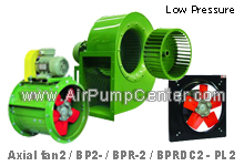 EUROVENT BLOWER , Low-Pressure , Series BP