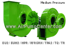 EUROVENT BLOWER , Medium-Pressure , Series EU-EUM