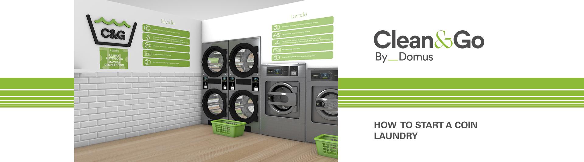 Clean&Go, domus, ขายเครื่องซักผ้าหยอดเหรียญ, เครื่องอบผ้าหยอดเหรียญ, Coin-Op, ร้านซักผ้าหยอดเหรียญ, ร้านอบผ้าหยอดเหรียญ, เครื่องซักผ้า, เครื่องอบผ้า