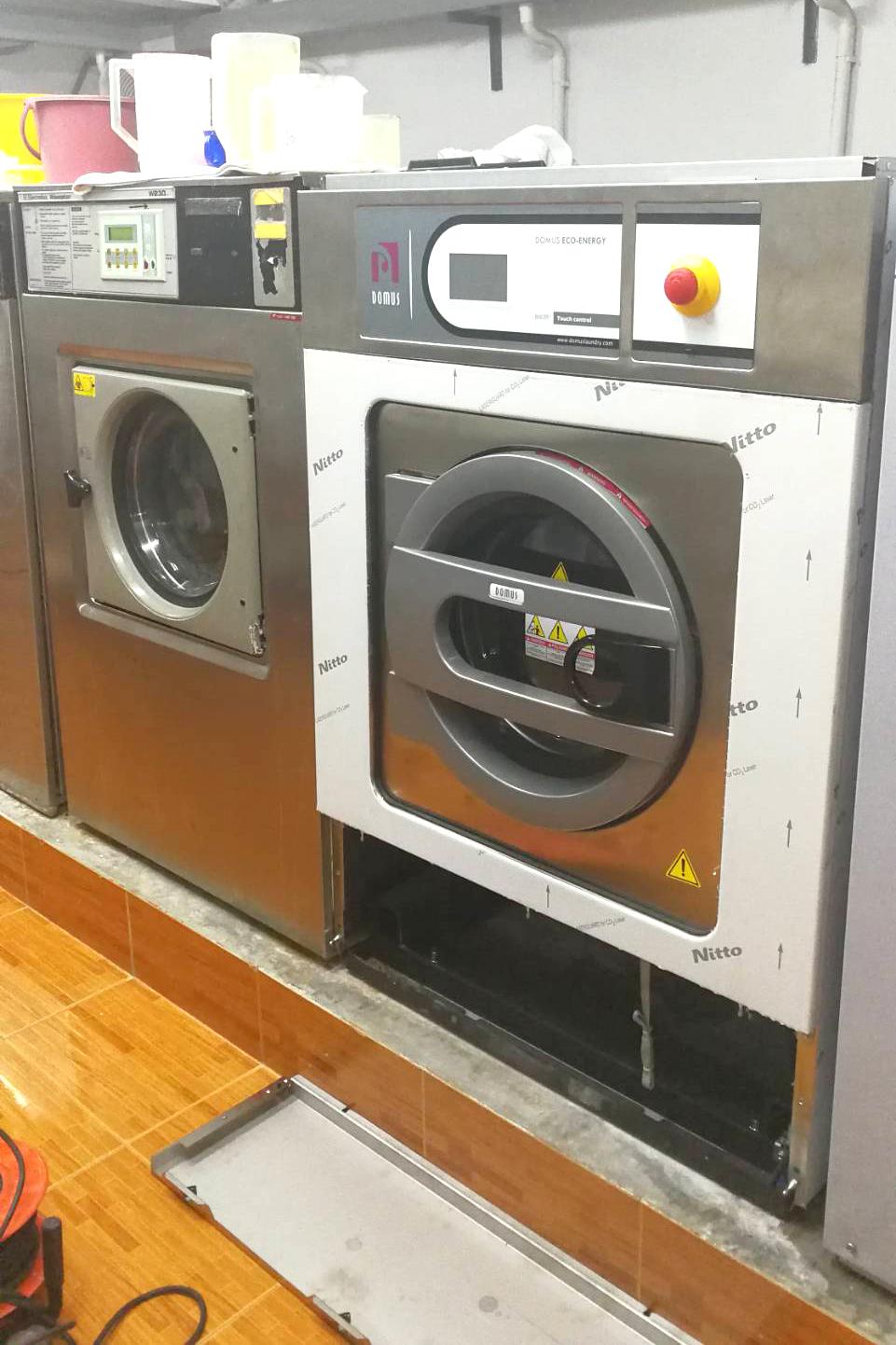 DOMUS, PRIMER, FAGOR, DANUBE, DLS, DMS, โดมุส, ขายเครื่องซักผ้าอุตสาหกรรม, เครื่องซักสลัดผ้าอุตสาหกรรม, เครื่องซักผ้าโรงแรม, เครื่องซักผ้าโรงพยาบาล, เครื่องซักผ้าโรงงาน, เครื่องซักผ้ายุโรป, เครื่องซักผ้าราคาถูก, เครื่องซักผ้าลอนดรี้, washer extractor, rig