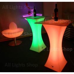 LED Cocktail Table สูง 110 cm