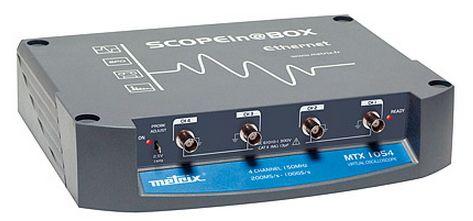 Scopein@Box virtual ดิจิตอลออสซิโลสโคปแบบ Compact Box