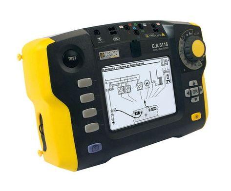 C.A 6116 Multi-Function Installation Tester - เครื่องตรวจวัดการติดตั้งระบบไฟฟ้าแบบ All in one