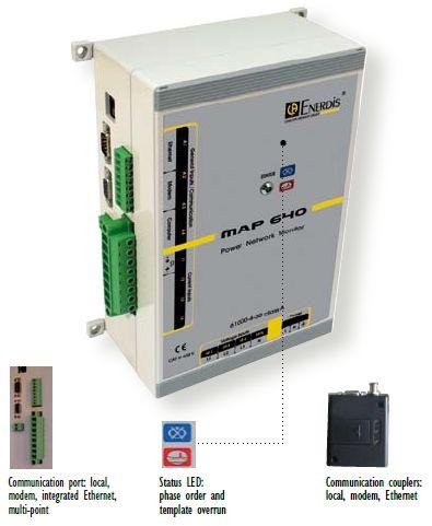 Map power Quality Analyser เครื่องบันทึกและวิเคราะห์คุณภาพไฟฟ้า (1 phase / 3 phase)
