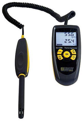 C.A 1244 เครื่องวัดอุณหภูมิและความชื้นสัมพัทธ์