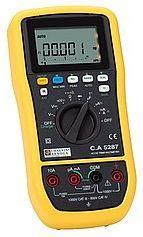C.A 5287/5289 50,000-Count TRMS Multimeter TRMS มัลติมิเตอร์ความแม่นยำสูง
