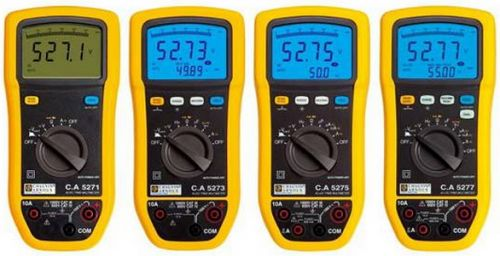 C.A 5271/5273/5275/5277 (TRMS) Digital Multimeter ดิจิตอลมัลติมิเตอร์