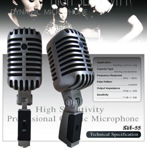 NTS,SH-55,ไมโครโฟน,ไมโครโฟนสำหรับร้องเพลง,ไมโครโฟนสำหรับพูด,ไมค์สาย,ไมค์ราคาถูก,ไมโครโฟนราคาถูก,ไมค์ของแท้