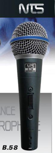 NTS,B.58,ไมโครโฟน,ไมโครโฟนสำหรับร้องเพลง,ไมโครโฟนสำหรับพูด,ไมค์สาย,ไมค์ราคาถูก,ไมโครโฟนราคาถูก,ไมค์ของแท้