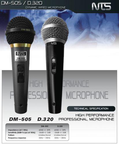 NTS,D320,ไมโครโฟน,ไมโครโฟนสำหรับร้องเพลง,ไมโครโฟนสำหรับพูด,ไมค์สาย,ไมค์ราคาถูก,ไมโครโฟนราคาถูก,ไมค์ของแท้