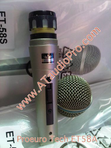 ไมโครโฟน PROEURO TECH ET58A