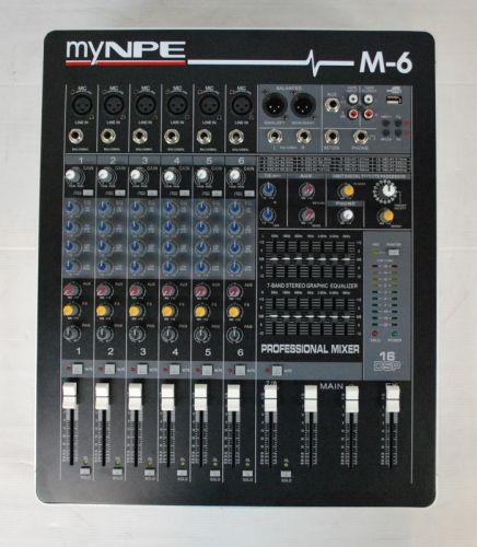 mynpe M-6 mixer