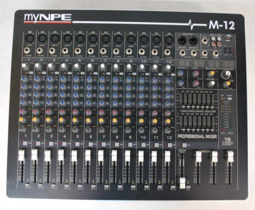 MYNPE MIXER M-12
