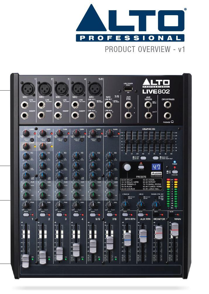 มิกเซอร์,ALTO,LIVE802,802,8CH,ราคาโปรโมชั่น,พิเศษ,ราคา,ที่นี่ที่แรก,ของแท้,รับประกันคุณภาพ,เครื่องเสียงกลางแจ้ง