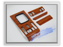 Auto Pro. Fader Instrument Panel Zebrano Wood Dash Trim Mercedes-Benz W123 200 200D 200T 230 230C 230CE 230E 230TE 240D 250 250T 280 280C 280CE 280E 280TE 300D 300TD