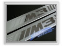 Auto Pro. M3 Chrome Door Sill Cover Protector BMW E30 Coupe Convertible 316 318 316i 318i 318is 320i 320is 325i M10 M40 M3