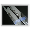 Auto Pro. M3 Sandblast Chrome Door Sill Cover BMW E36 Coupe and Convertible 316 316i 318is 320i 323i 325i 325is 328i M42 M44 M50 M52