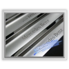 Auto Pro. Sandblast Chrome Door Sill Step Mercedes-Benz W123 All Sedan and Van Touring Models 200 230 250 280 200D 240D 300D 230E 280E 200T 230T 250T 230TE 280TE 240TD 300TD