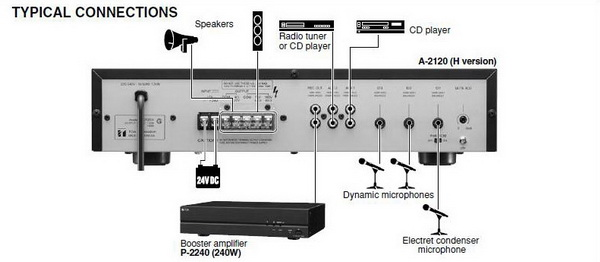 toa a 2240 mixer power amplifier. Black Bedroom Furniture Sets. Home Design Ideas