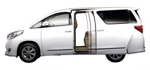 New Toyota Alphard