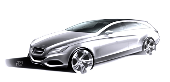 The new CLS Shooting Brake