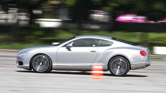 ทดสอบ Bentley Continental GT V8
