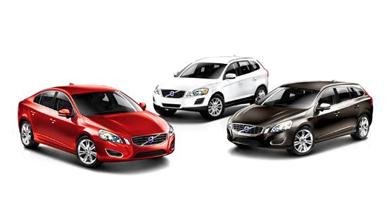วอลโว่เปิดตัวรถยนต์ใหม่ ปี 2013