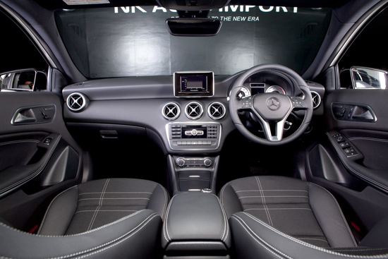 Benz NK  All New A-Class 2013